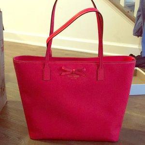 Kate Spade Coral Tote Bag